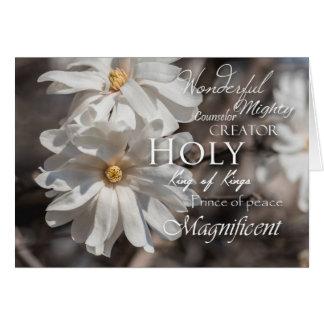 Magnolia Easter Card