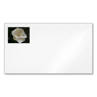 Magnolia Flower Business Cards Magnetic Business Cards