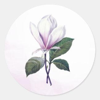 Magnolia Flower Seal Stickers