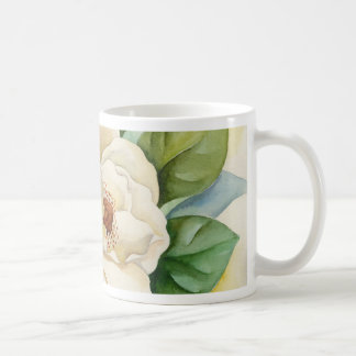 Magnolia Flower Watercolor Art - Multi Coffee Mugs