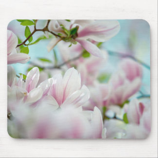 Magnolia Flowers Mouse Pad