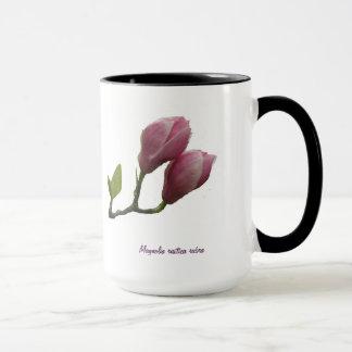 Magnolia flowers mug