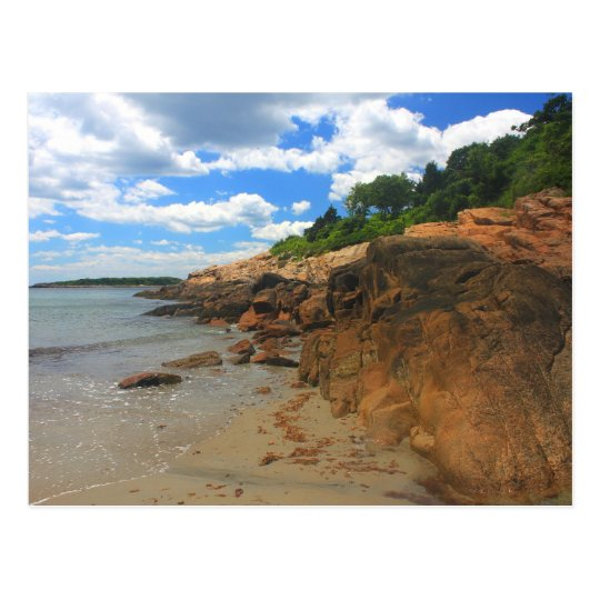 Magnolia Grey Beach Manchester by the Sea Postcard