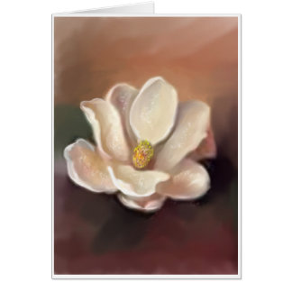 MAGNOLIA IN AMBER CARD