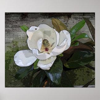 Magnolia Magic Print