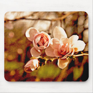 Magnolia Mood in Pink Mouse Pad