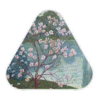 Magnolia (oil on canvas)