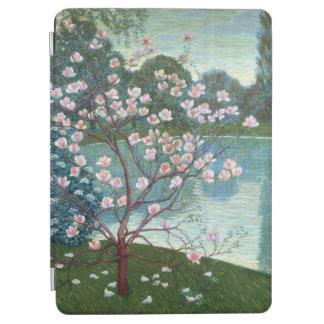 Magnolia (oil on canvas) iPad air cover