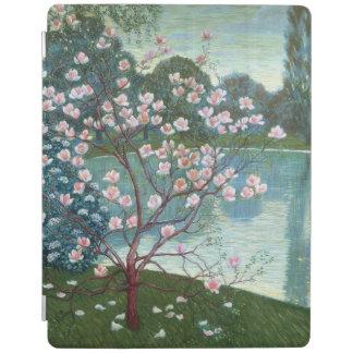 Magnolia (oil on canvas) iPad cover
