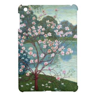 Magnolia (oil on canvas) iPad mini case