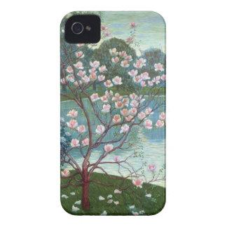 Magnolia (oil on canvas) iPhone 4 case