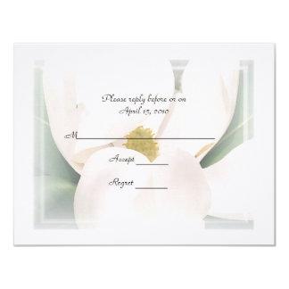 Magnolia R.S.V.P Wedding Invitations