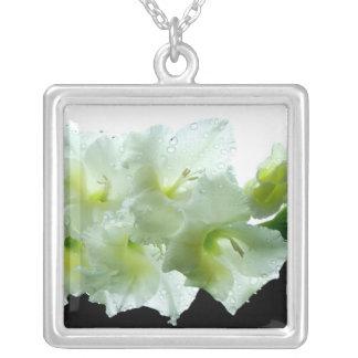 Magnolia Silver Necklace