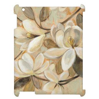 Magnolia Simplicity Cream iPad Cases