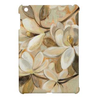 Magnolia Simplicity Cream iPad Mini Cases