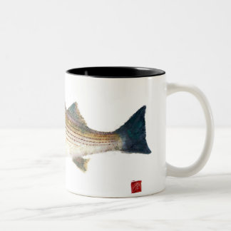 Magnolia Striped Bass Two-Tone Coffee Mug