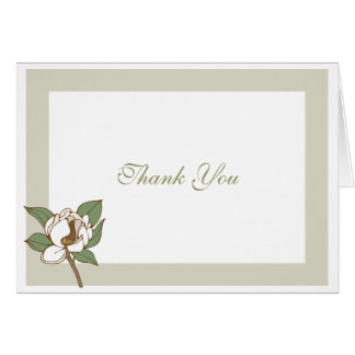 Magnolia Thank You Cards
