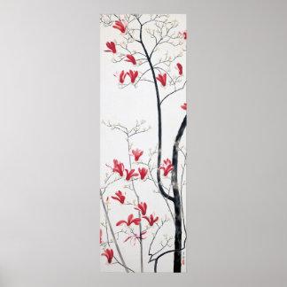 Magnolia Tree Art Poster