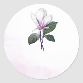 Magnolia Wedding Favor Stickers