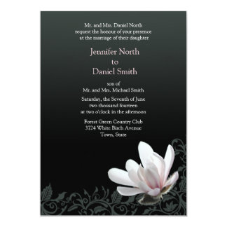 Magnolia Wedding Invitations Classic Floral Design