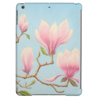 Magnolias in Bloom, Wisley Gardens iPad Air Case