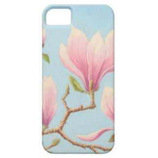 Magnolias in Bloom, Wisley Gardens iPhone case