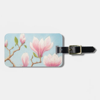 Magnolias in Bloom Wisley Gardens Luggage Tag