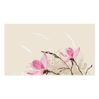 Magnolias Profile Card Pack Of Standard Business Cards