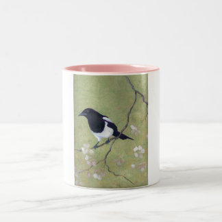 magpie and dogwood Two-Tone coffee mug