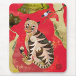 Magpie and Tiger: Korean Folk Art Mouse Mat