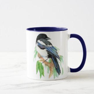 Magpie, Bird, Garden, Nature, Wildlife Mug