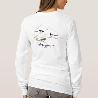Magpie Bird, Nature, Wildlife Hoodie