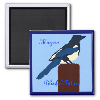 MAGPIE Blissful Future manget Refrigerator Magnets