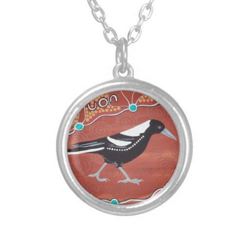 Magpie Dreaming Custom Necklace