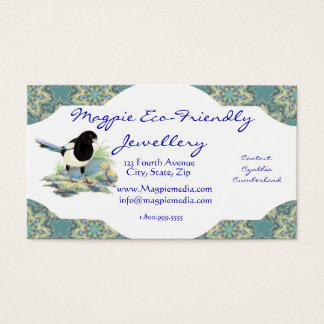 Magpie Eco-Friendly Jewellery Business Card