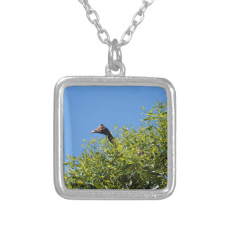 MAGPIE GEESE GOOSE RURAL QUEENSLAND AUSTRALIA PERSONALISED NECKLACE