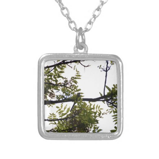 Magpie In The Woods Pendant