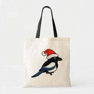 Magpie Santa Tote Bag