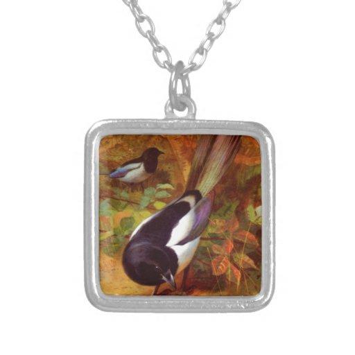 Magpie wild bird jewelry