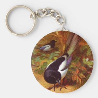 Magpies Keychain