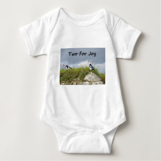 Magpies Two For Joy Baby Bodysuit
