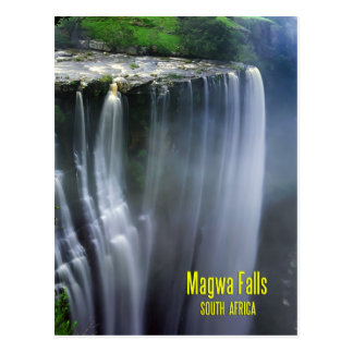 Magwa Falls, South Africa Postcard