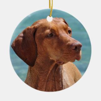 Magyar Vizsla Dog Christmas Ornament