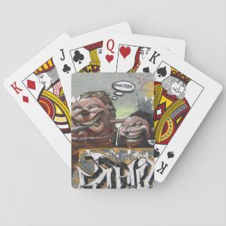 Mah coza, Graffiti,Spain Classic Playing Cards
