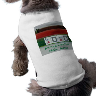 Mah-Jongg 2010 Sleeveless Dog Shirt