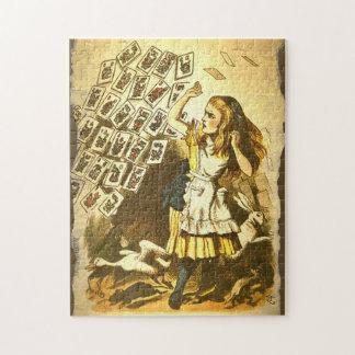 Mah Jongg Alice in Wonderland Puzzle