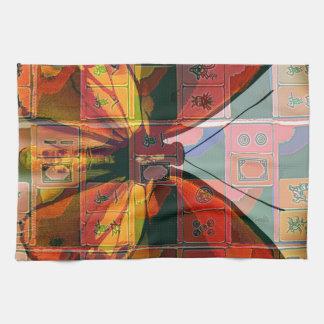 Mah Jongg Butterfly Towel