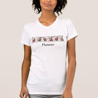 Mah Jongg Flower Tee Shirt