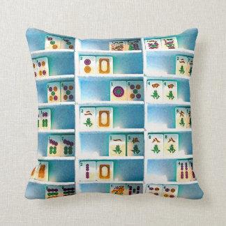 Mah Jongg Two Sided Tiles Pillow