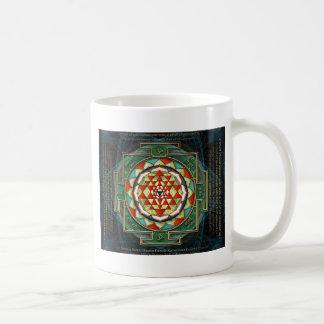 Maha Lakshmi Mantra & Shri Yantra Mugs
